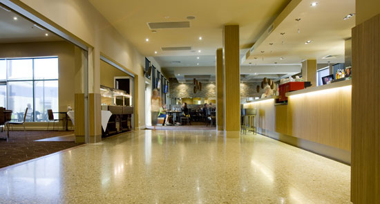 Polished Concrete Floors The Basin
